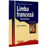 Limba franceza - Clasa 10 - Manual. Limba moderna 1: Porte-bonheur - Dan Ion Nasta, editura Corint