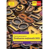Matematica - Clasa 8 - Teste de parcurs pentru Evaluarea Nationala 2021 - Florin Antohe, Marius Antonescu, editura Grupul Editorial Art