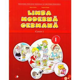 Limba moderna germana clasa 1 Sem.1 + CD - Naomi Achim, Eugenia Rosian, editura Litera