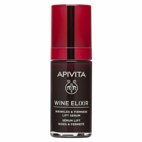 Ser Facial, Wrinkle Firmness Lift Serum, Wine Elixir, Apivita, 30 ml