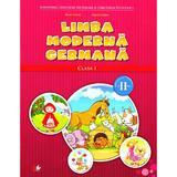 Limba moderna germana clasa 1 sem. 2 + CD - Naomi Achim, Eugenia Rosian, editura Litera