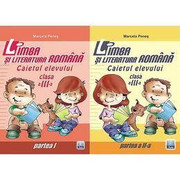 Romana cls 3 caiet partea I+II - Marcela Penes, editura Ana