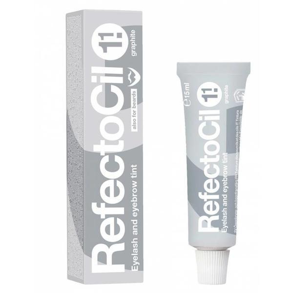 Vopsea pentru Gene si Sprancene RefectoCil, nuanta 1.1 Grafit, 15 ml esteto.ro