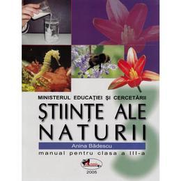Manual stiinte ale naturii clasa 3 - Anina Badescu, editura Aramis