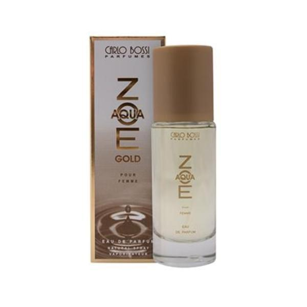Apa de parfum, Carlo Bossi, Aqua Zoe Gold, pentru femei. 100 ml esteto.ro