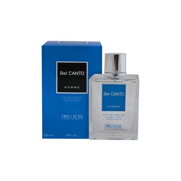 Apa de parfum pentru barbati Carlo Bossi, Bel Canto, albastru, 100 ml