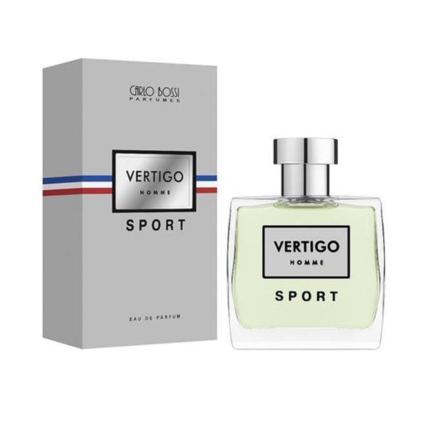 Apa de parfum pentru barbati Carlo Bossi, Vertigo Sport, 100 ml