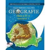 Geografie - Clasa 4. Sem. 1+2 - Manual + CD - Cleopatra Mihailescu, Tudora Pitila, editura Aramis
