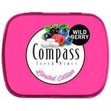 SHORT LIFE - Drajeuri Compass Fresh Mints Fructe Salbatice Powermints, 14g