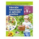 Educatie Tehnologica si aplicatii practice - Clasa 5 + Cd - Manual - Marinela Mocanu, editura Aramis