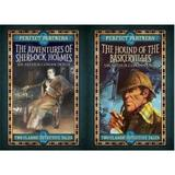 Perfect Partners: the Hound of the Baskervilles & the Adventures of Sherlock Holmes - Sir Arthur Conan Doyle, editura Arcturus Publishing