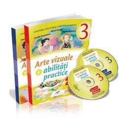 Arte vizuale si abilitati practice - Clasa 3 - Sem.1 si 2 + CD - Mirela Flonta, editura Cd Press
