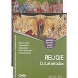 Religie cls 4 Sem 1+2 + CD (2 vol.) - Cultul Ortodox - Mihaela Achim, Anisoara Daiu, editura Corint