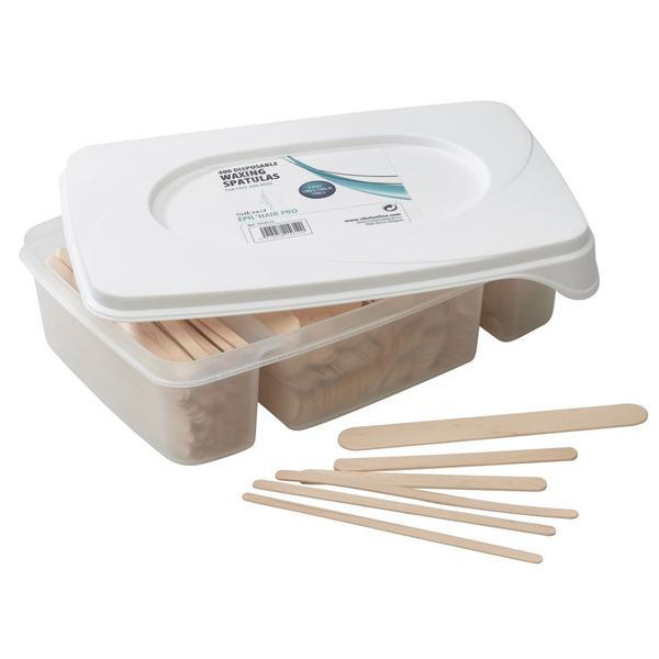 Spatule ceara din lemn pentru cosmetica Sinelco 400buc cod.7410515