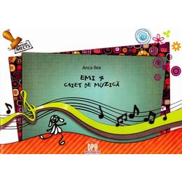 Caiet de muzica cs 4 - Anca Ilea (Emi 4), editura Didactica Publishing House