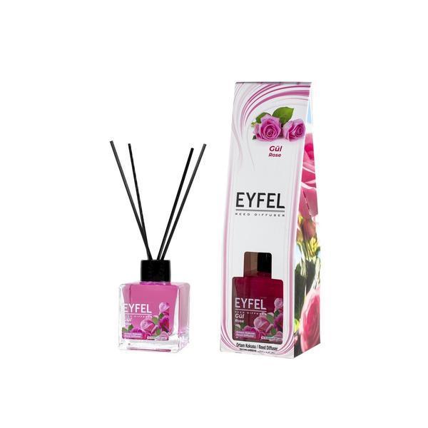 Odorizant camera Eyfel cu betisoare aroma Trandafir 120 ml esteto.ro