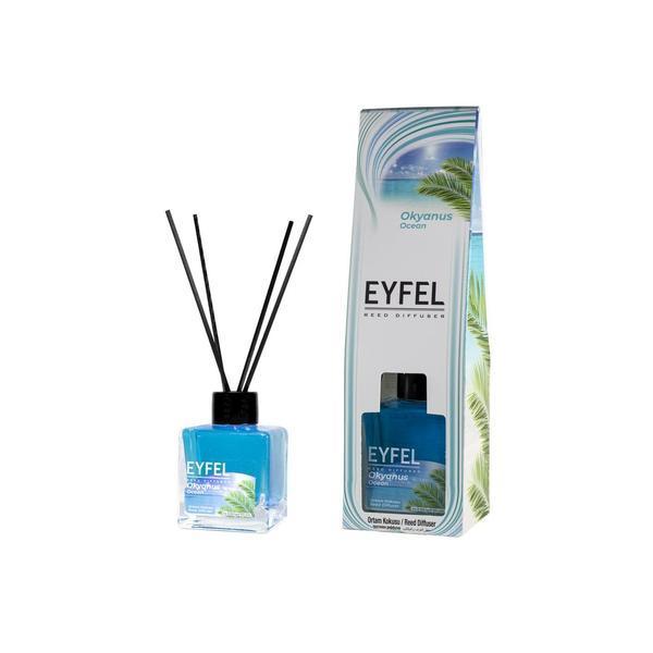 Odorizant camera Eyfel cu betisoare aroma Ocean 120 ml esteto.ro