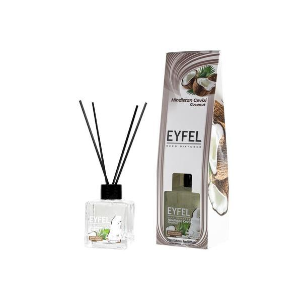 Odorizant camera Eyfel cu betisoare aroma Nuca de cocos 120 ml esteto.ro