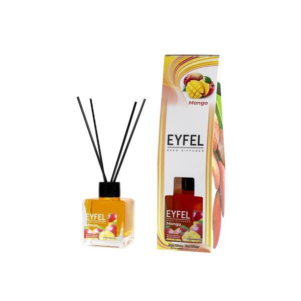 Odorizant camera Eyfel cu betisoare aroma Mango 120 ml esteto.ro