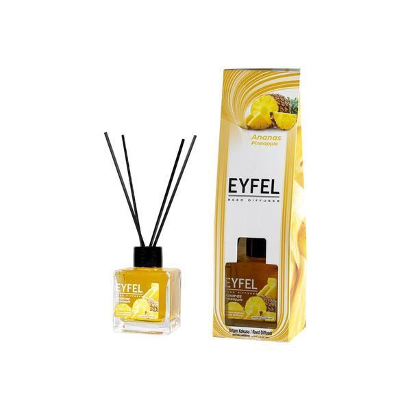Odorizant camera Eyfel cu betisoare aroma Ananas 120 ml esteto.ro