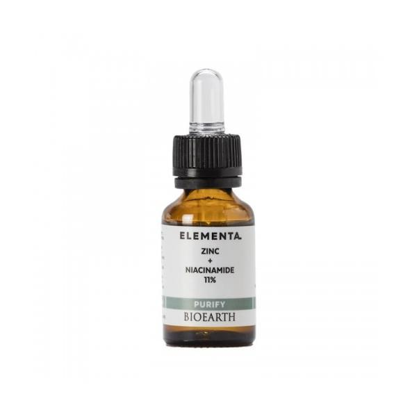 Serum Elementa Niacinamida si Zinc Beauty Booster Bioearth, 15ml