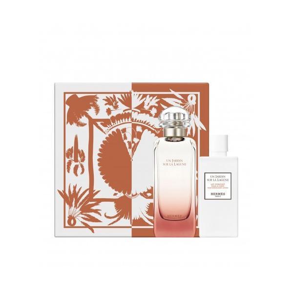 Set cadou Hermes Un Jardin Sur La Lagune Set Apa De Toaleta 50ml + Lotiune Pentru Corp 40ml