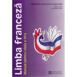 Limba franceza - Clasa 7 - Manual - Mariana Popa, Anca Monica Popa, editura Humanitas