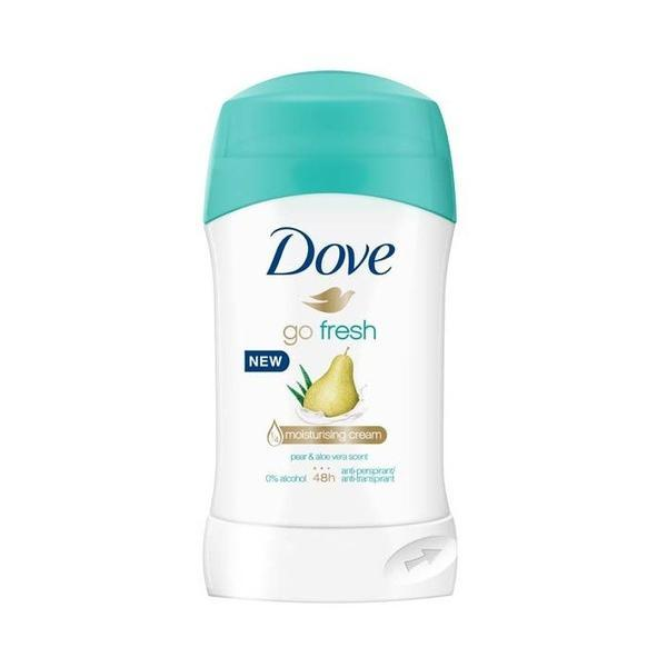 Deodorant antiperspirant stick, Dove, Go Fresh Pear & Aloe Vera, 48h, 40ml esteto.ro