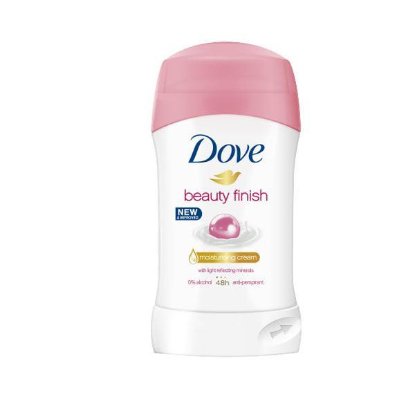 Deodorant antiperspirant stick, Dove, Beauty Finish, 48h, 40ml esteto.ro