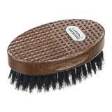 Perie din lemn de mahon profesionala pentru barba cu par de mistret.- Sibel Professional