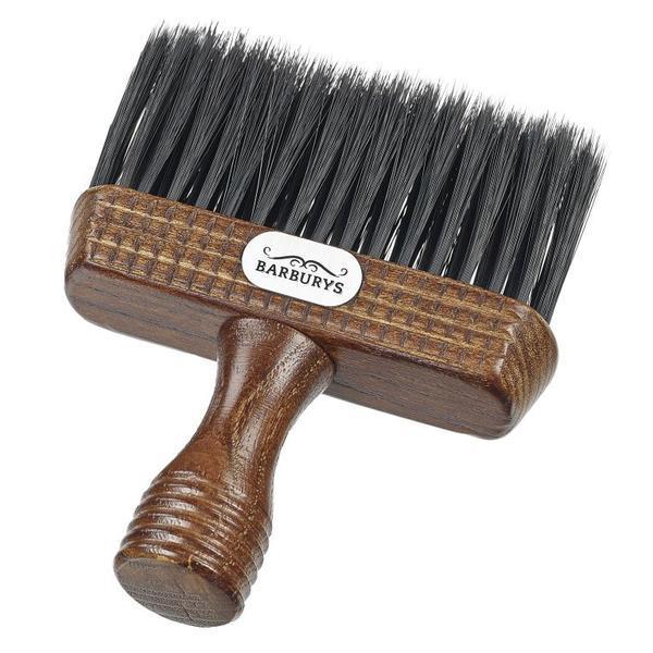 Pamatuf profesional Barber din lemn de mahon - Sinelco