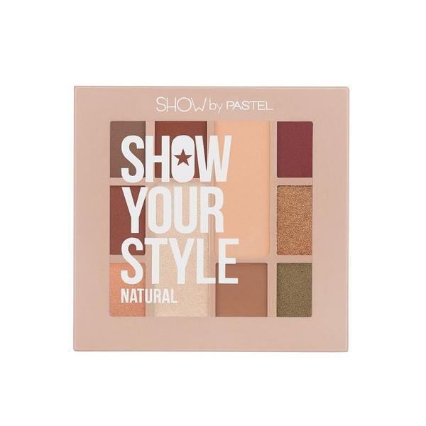 Trusa farduri 10 culori mate si perlate, Pastel Show Your Style 464 Natural, 10g