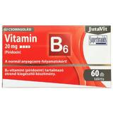 Tablete Vitamina B6 20 mg Jutavit, 60 tablete