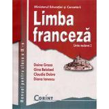 Limba franceza - Clasa 9 - Manual. Limba moderna 2 - Doina Groza, Gina Belabed, Claudia Dobre, Diana Ionescu, editura Corint