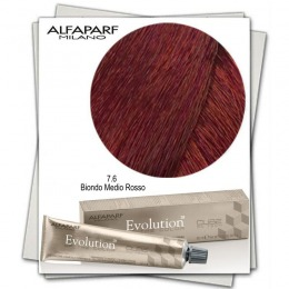Vopsea Permanenta - Alfaparf Milano Evolution of the Color nuanta 7.6 Biondo Medio Rosso