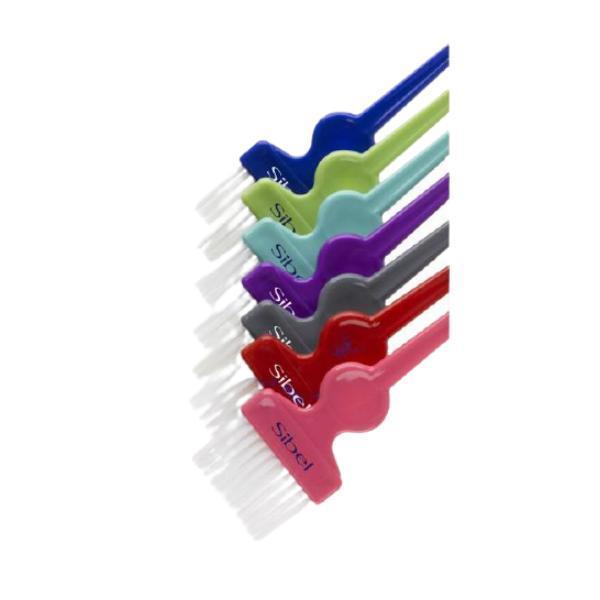 Set de 7 pensule colorate Sibel