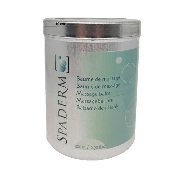 Recipient cilindric SPA aluminiu capacitate 500 ml Spaderm esteto.ro