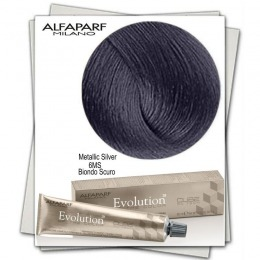 Vopsea Permanenta - Alfaparf Milano Evolution of the Color Metallic Silver nuanta 6MS Biondo Scuro