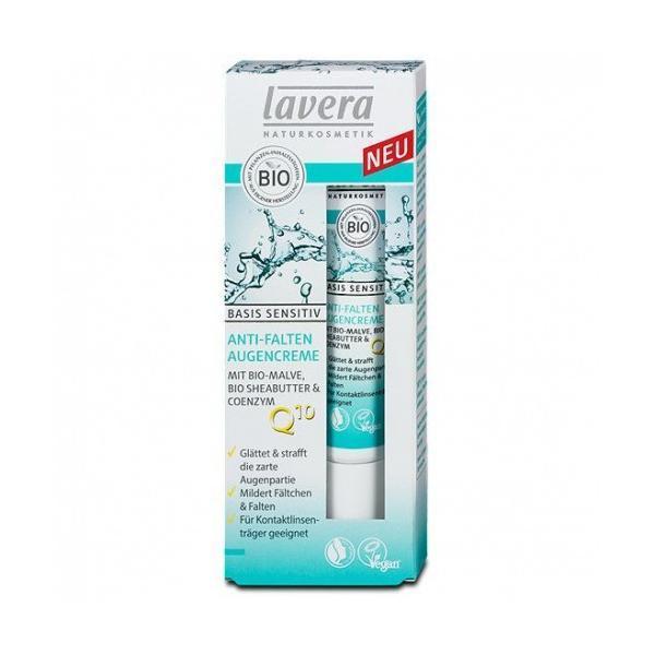 Crema Contur Ochi Anti-rid Lavera Basis Sensitiv 15ml