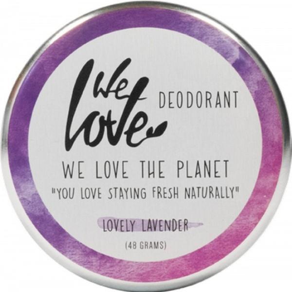 Deodorant Natural Crema Lovely Lavender We Love the Planet, 48 g esteto.ro