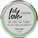 Deodorant Natural Crema Mighty Mint We Love the Planet, 48 g