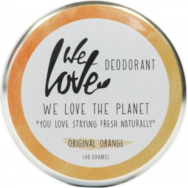 Deodorant Natural Crema Original Orange We Love the Planet, 48 g