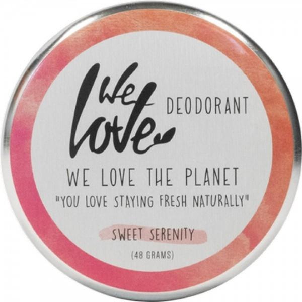 Deodorant Natural Crema Sweet Serenity We Love the Planet, 48 g