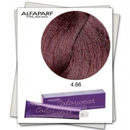 Vopsea Fara Amoniac - Alfaparf Milano Color Wear nuanta 4.66 Castano Medio Rosso Intenso