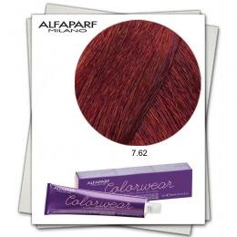 Vopsea Fara Amoniac - Alfaparf Milano Color Wear nuanta 7.62 Biondo Medio Rosso Irise