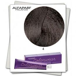 Vopsea Fara Amoniac - Alfaparf Milano Color Wear nuanta 4 Castano Medio
