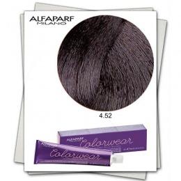 Vopsea Fara Amoniac - Alfaparf Milano Color Wear nuanta 4.52 Castano Medio Mogano Irise