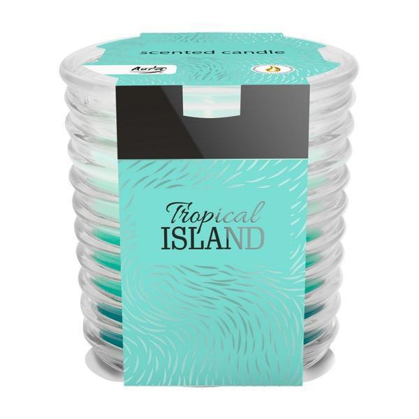 Lumanare parfumata, aroma de Tropical Island esteto.ro