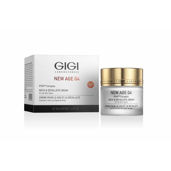 Crema pentru ochi si gat New Age Gigi Cosmetics, 250ml