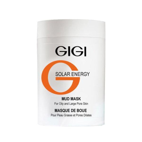 Masca cu namol pentru tenul gras GIGI Solar Energy, 250ml